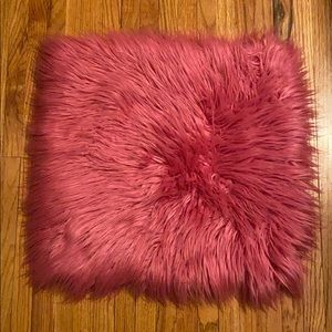 Pottery Barn Kids Faux Fur Pillow Cover